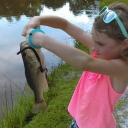 Fishing at a young age!